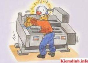 An toàn lao động khi sửa chửa máy