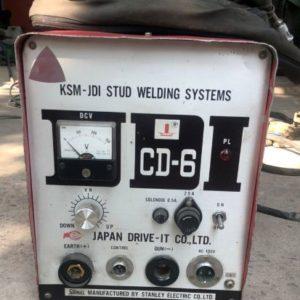 Máy hàn bu lông CD6 Nhật