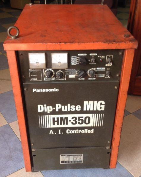 Máy hàn mig nhôm Panasonic 350